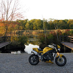 Triumph Speed Triple in Autmn