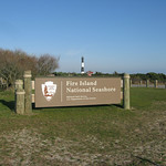 The Fire Island National Seashore Sign