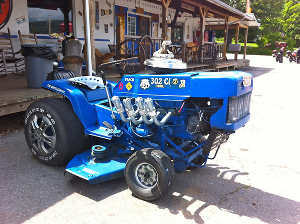 Super Mower at Shady Valley Country Store