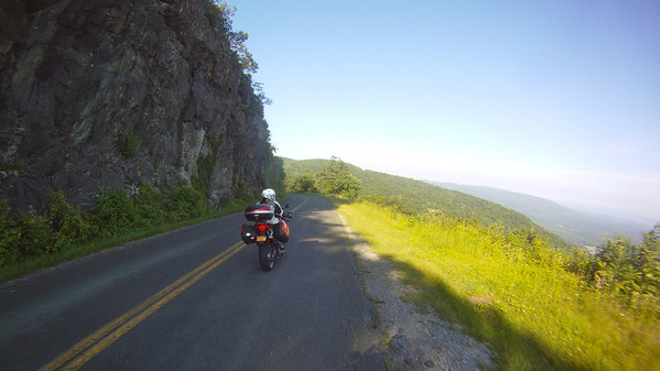 Rolling on the Blue Ridge Parkway