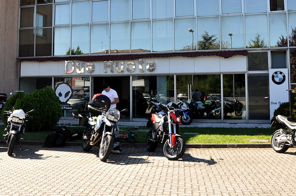 Due Ruote BMW Rent-A-Dream Motorcycle Rental Milan Italy