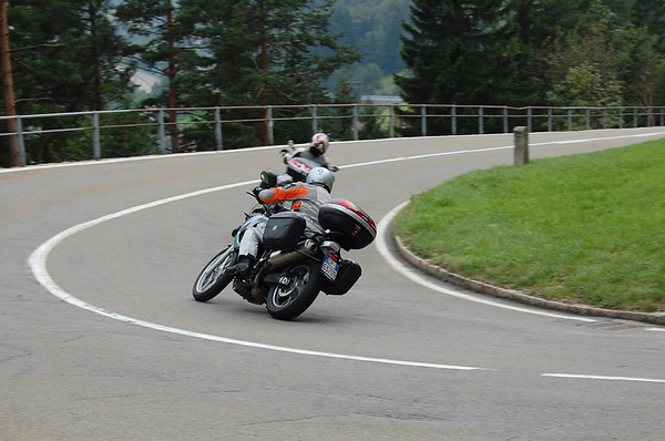 Kenny on the BMW F 650 GS