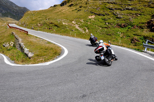 Pimmie and I on Spulgen Pass