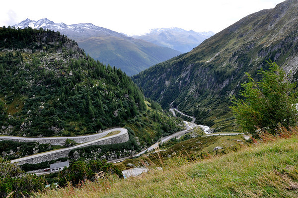 Grimsel Pass with partial View of Furka Pass