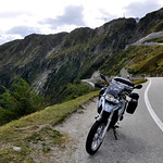F 650 GS on Grimsel Pass Switzerland