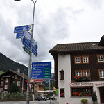 Wassen Switzerland Sustenpass Sign