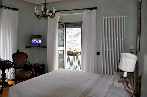Our Hotel Room at Metropole and Suisse lake Como
