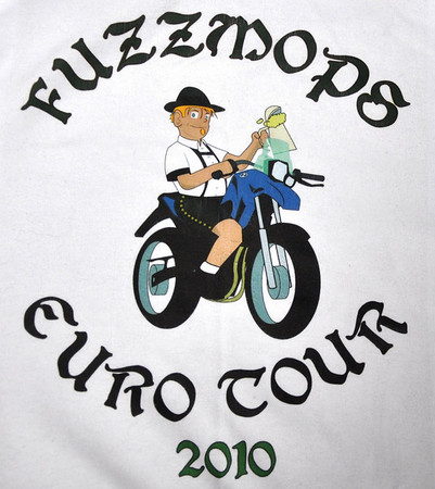 Crudmop Illustrated by Novos Eurotour 2010 Tshirt