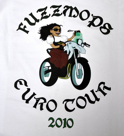 Fuzzygalore illustrated by Novos Eurotour 2010