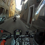 Riding in Bormio Italy