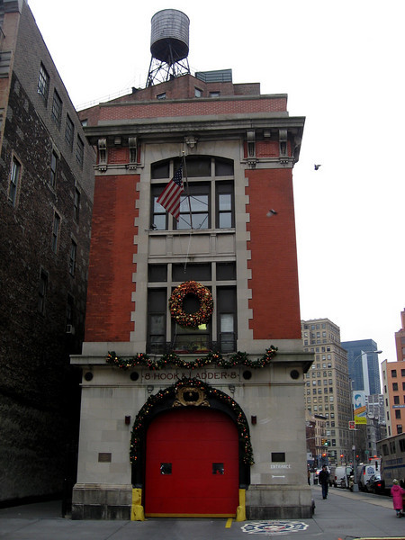 Ghostbuster Firehouse New York City