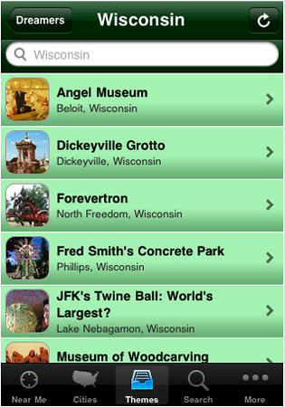 Roadside America iPhone App