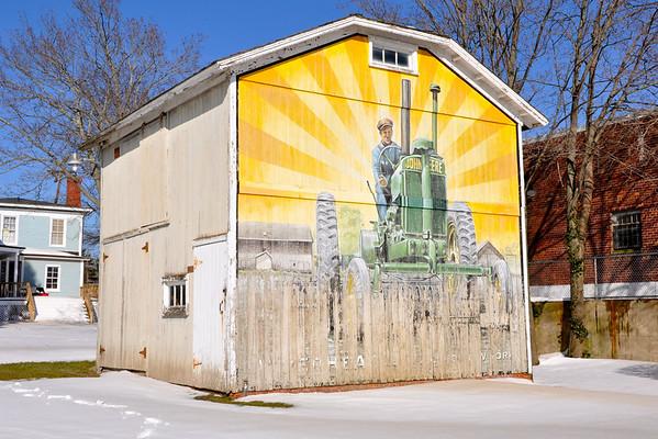 John Deere Barn Mural Riverhead NY