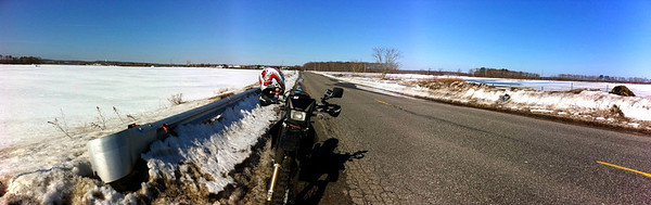 DRZ near the sod farms in Riverhead