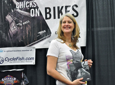 Christina Shook - Author of Chicks on Bikes in New York