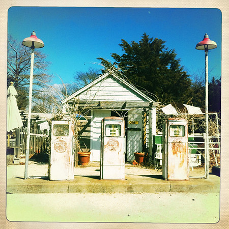 Springs General Store Gas Pumps