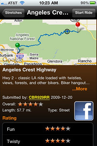 Screenshot - Greatest Road App