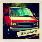 Our free candy van