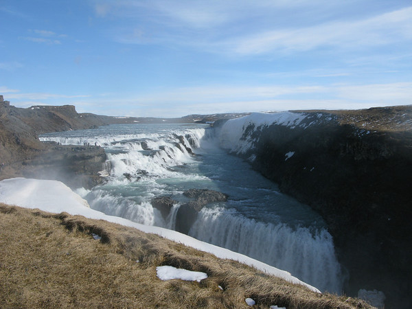 Gullfoss Iceland part of the Golden Circle