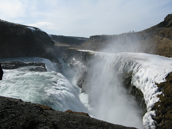 Gullfoss Iceland part of the Golden Circle