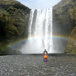 Skogarfoss Iceland Fuzzygalore Girlie Motorcycle Blog