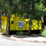 Rail Road Park resort Dunsmuir California Caboose Motel