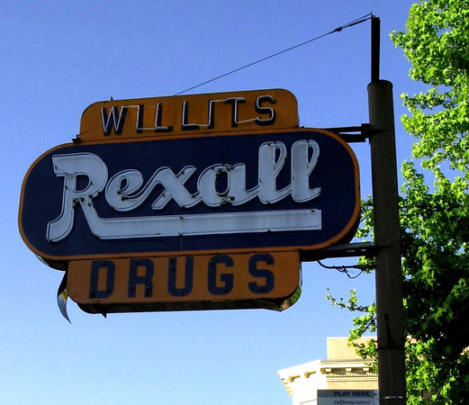 Willits California Rexall Pharmacy
