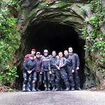 Me and the gang at Nada Tunnel in Kentucky