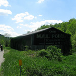 Mail Pouch Tobacco Barn on Route 32 near Morehead Kentucky