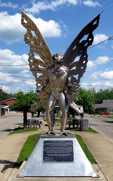The Mothman Point Pleasant West Virginia