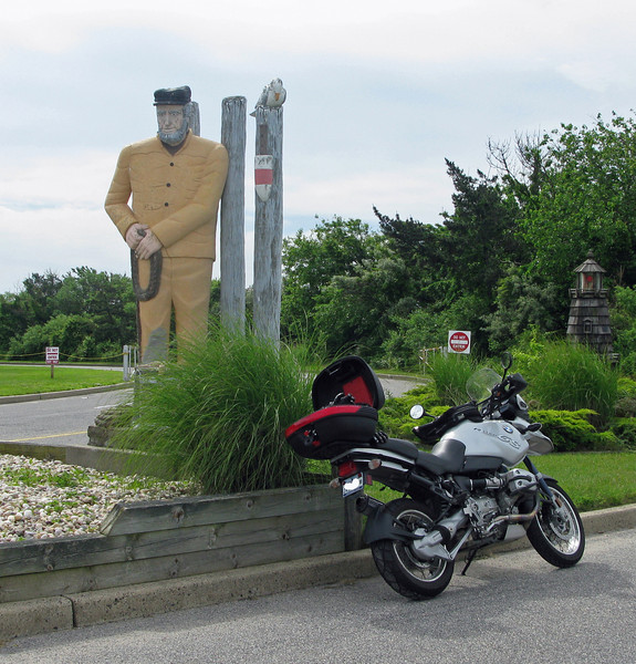 The Point Lookout Fisherman Statue