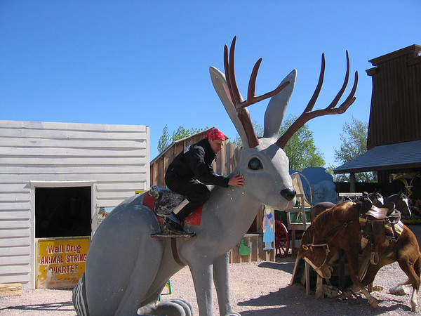 Jackalope Wall Drug in Wall South Dakota
