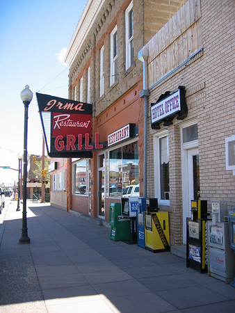 Buffalo Bill Codys Irma Hotel and Restaurat in Cody Wyoming