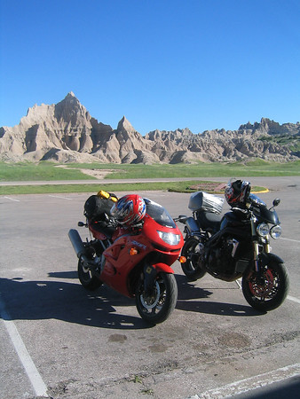 Badlands Natinal Park at the visitors center
