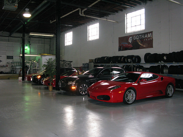 Gotham Dream Car Tour - Garage