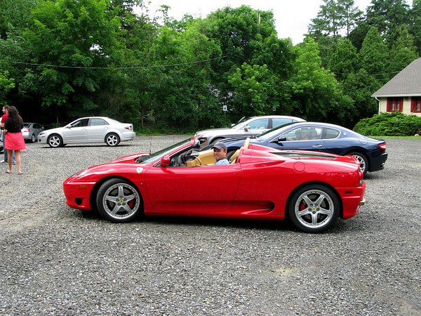 Kenny - Gotham Dream Car Tour - Ferrari 360 Spyder
