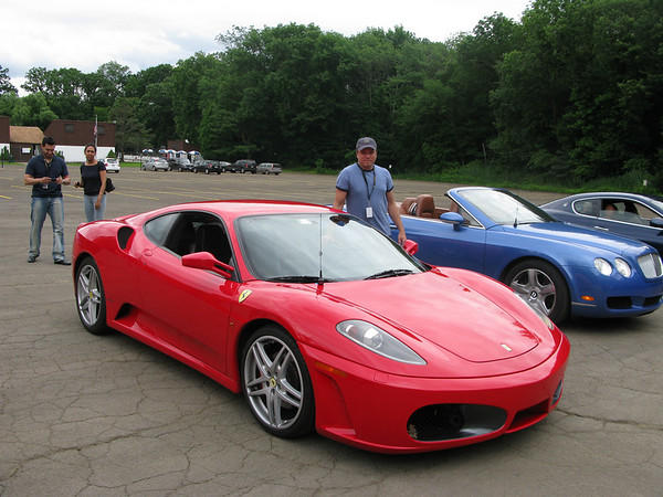 Kenny and the Ferrari F430