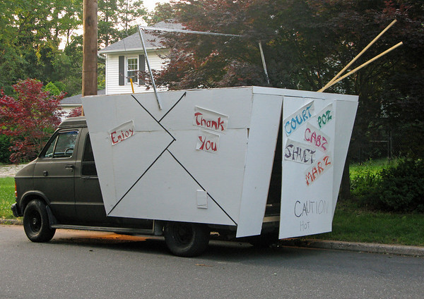 Chinese Take Out Box Van