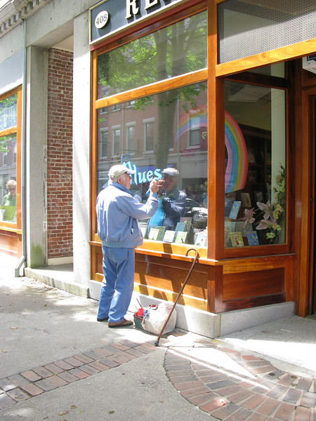 Rocklane Maine - Handpainting window writing