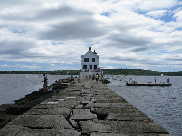 Rockland Maine Breakwater Lighthouse