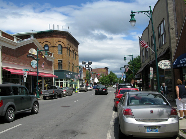 Streetview of Rockland Maine