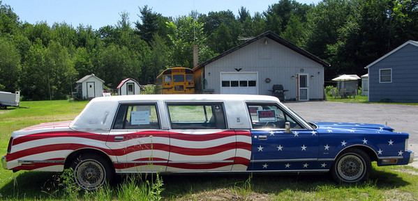 Patriot Guard Star Spangled Limousine - Maine