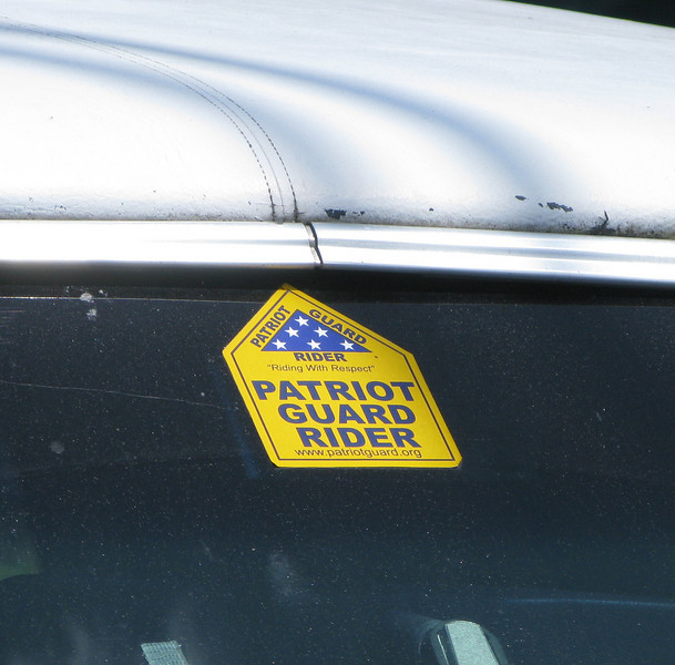 Partiot Guard Rider Sticker - Star Spangled Limousine - Maine