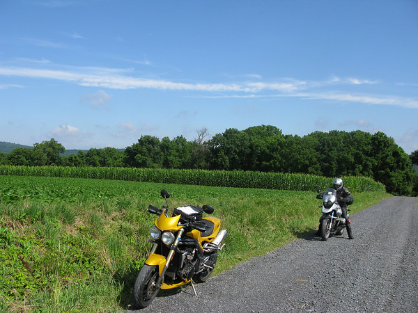 Gravel Road on the Ramapo 500