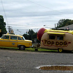 Top Dog Hotdog Trailer - Portland Connecticut - Fuzzygalore.com - Girlie Motorcycle Blog