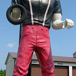 Muffler Man! Fuzzygalore.com - Girlie Motorcycle Blog