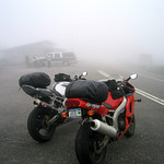 Bikes on the blue ridge parkway