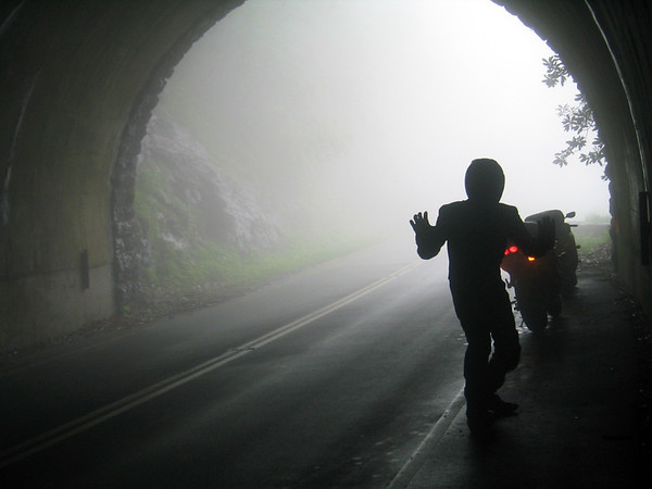 Crudmop in a Tunnel on the Blue Ridge Parkway