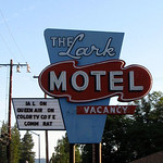 The Lark Motel on Route 101 near Willets California