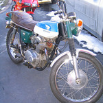 Kennys 1968 Honda CL 350 project bike - before